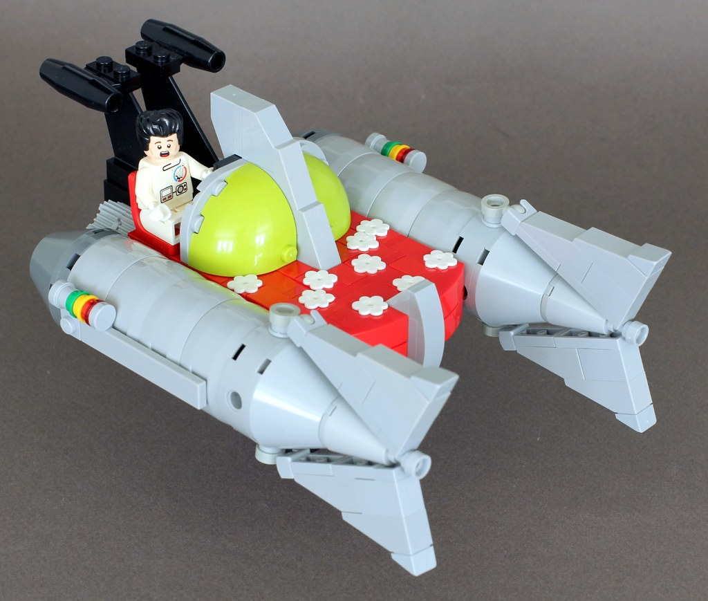 Space Dandy Ship Space Dandy Little Aloha