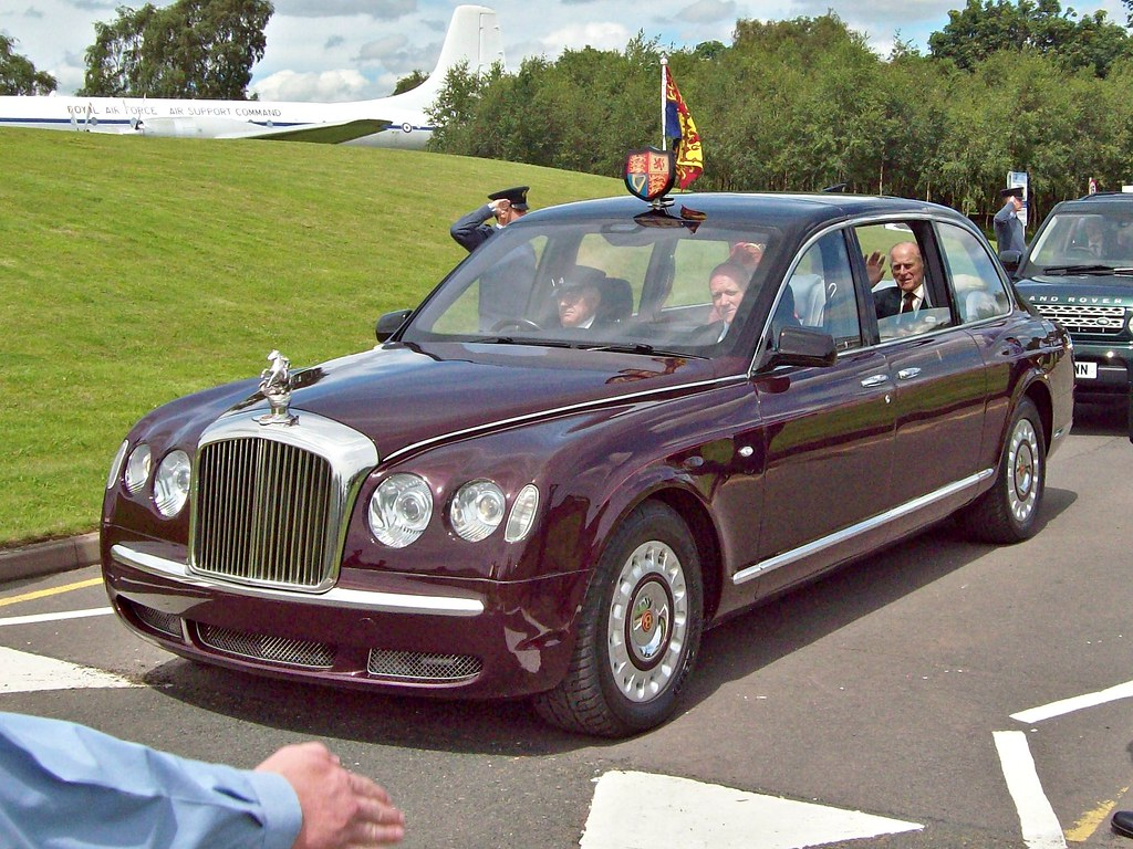 4 Bentley State Limousine (2002) - HRH Prince Philip | Flickr