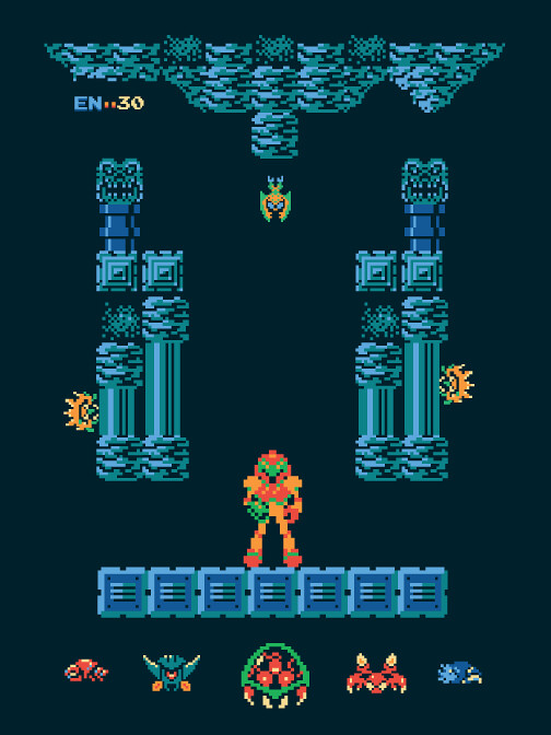 Metroid by Harlan Elam