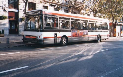 1989 lyon 69 bus tcl renault r312 michel tinnirello flickr. Black Bedroom Furniture Sets. Home Design Ideas