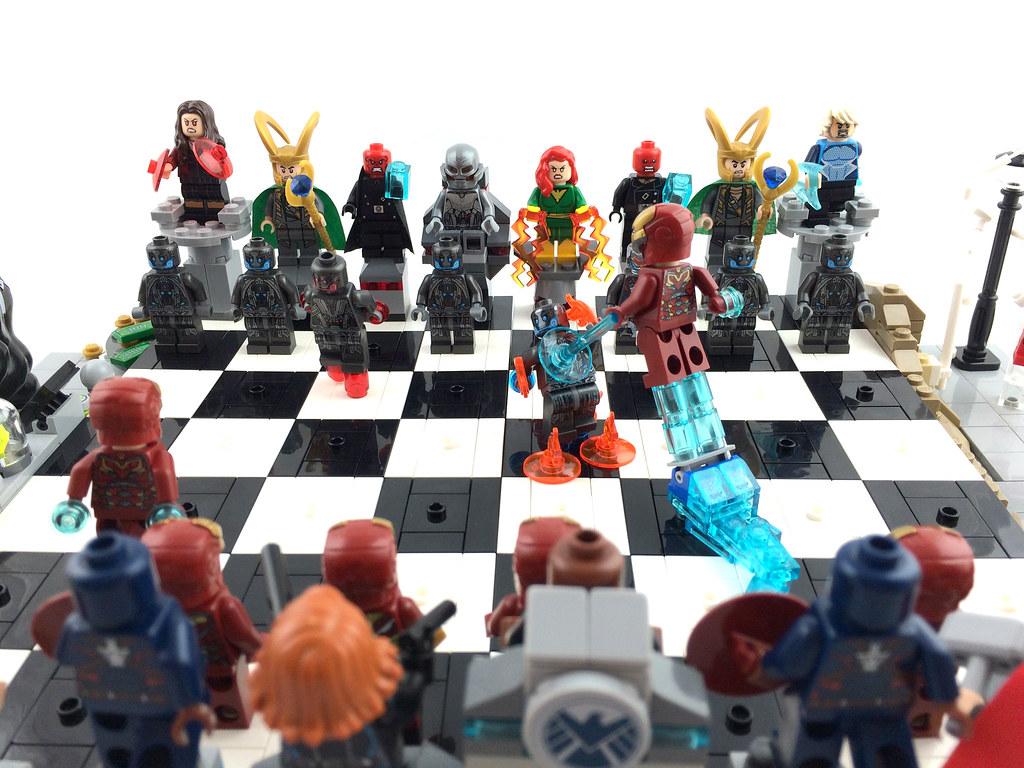 Lego Marvel Superheroes Chess Avengers Vs Ultron Marvel S Flickr