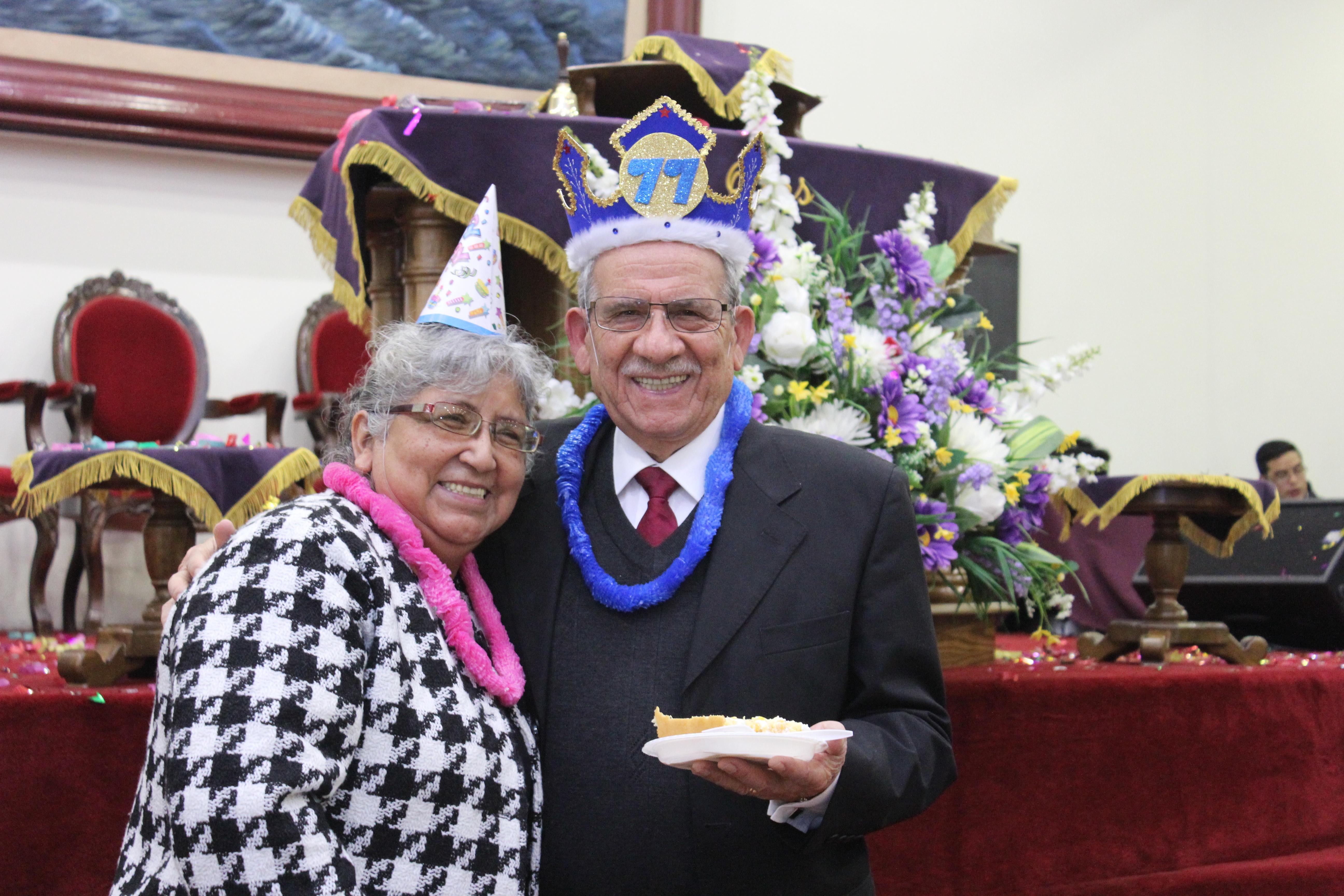 Cumpleaños Pastor Albertano Opazo IMPCH Coelemu