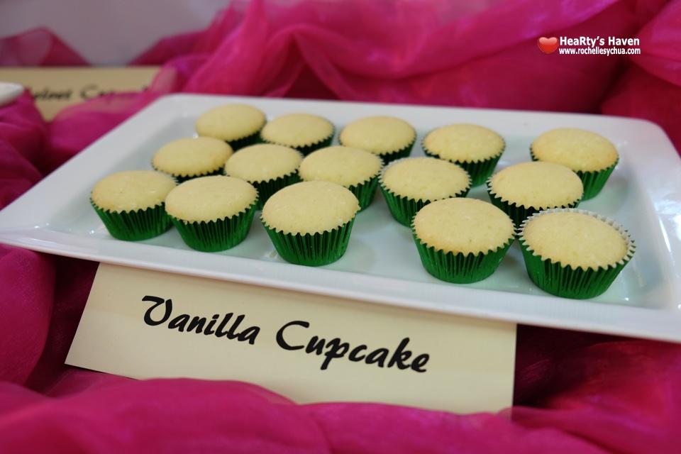 Chef Penk Ching Vanilla Cupcake
