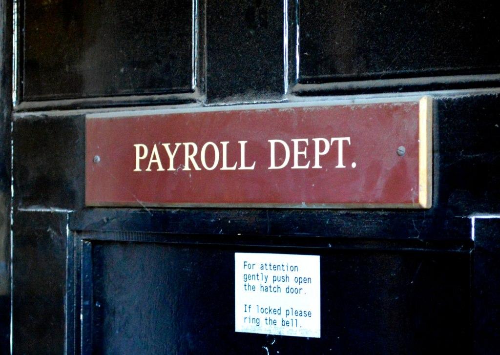 Payroll Matt Brown Flickr