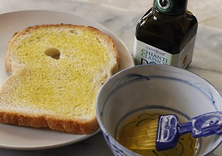 Grilled cheese with olive oil | by nycblondieandbrownie