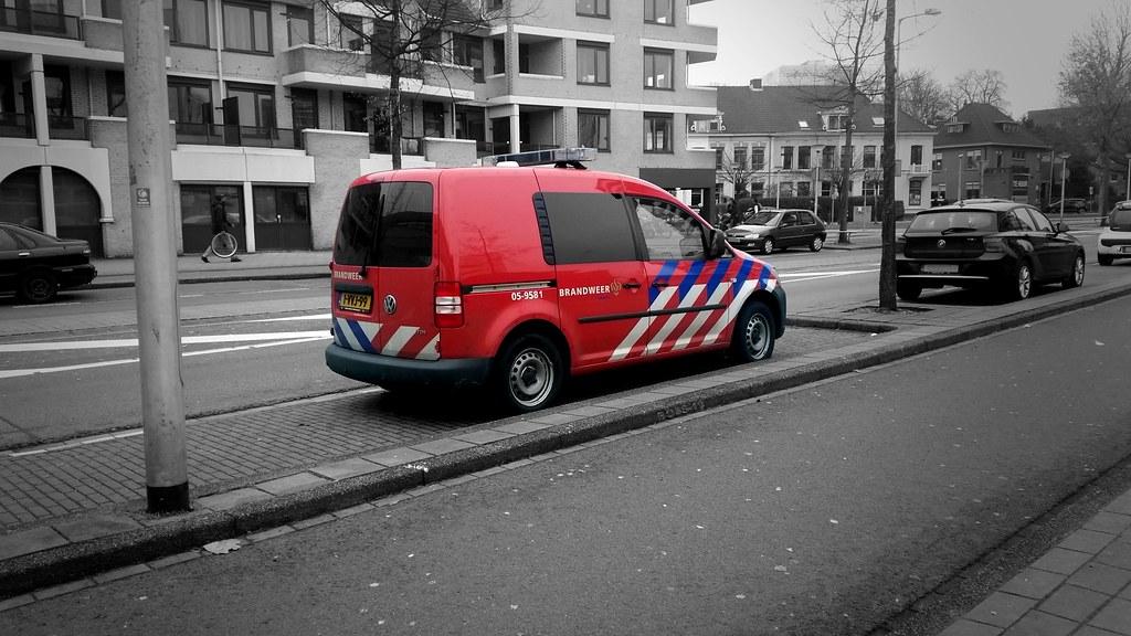 Brandweer Enschede Volkswagen Caddy
