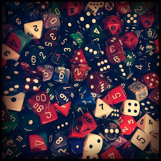 HipstaPrint: Dungeons & Dragons and Other Dice | by Steve Snodgrass