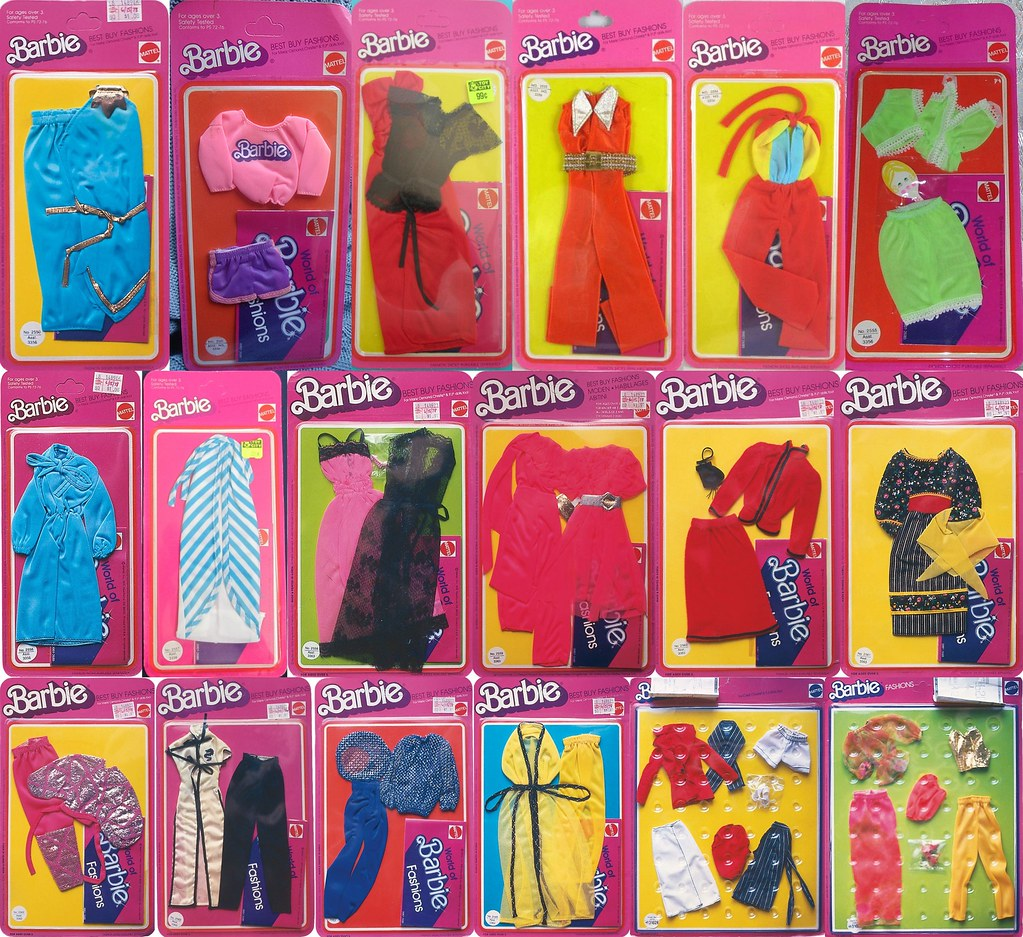 ... Best Buy Fashions Part 6 (#2560-2565, 2579, 2580) -