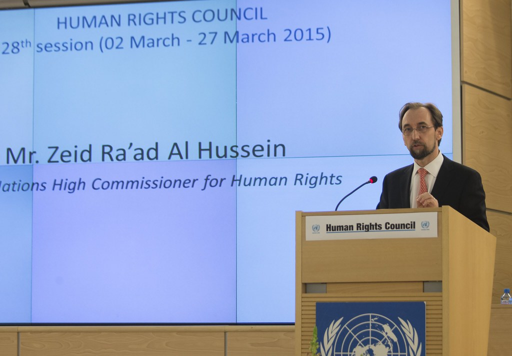 geneva based un high commissioner for human