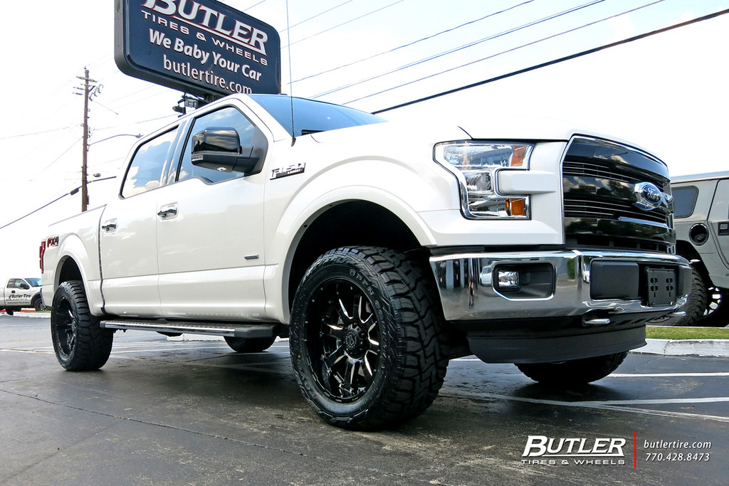 Toyo Rt F150 >> Ford F150 with 20in Black Rhino Sierra Wheels and Toyo RT … | Flickr