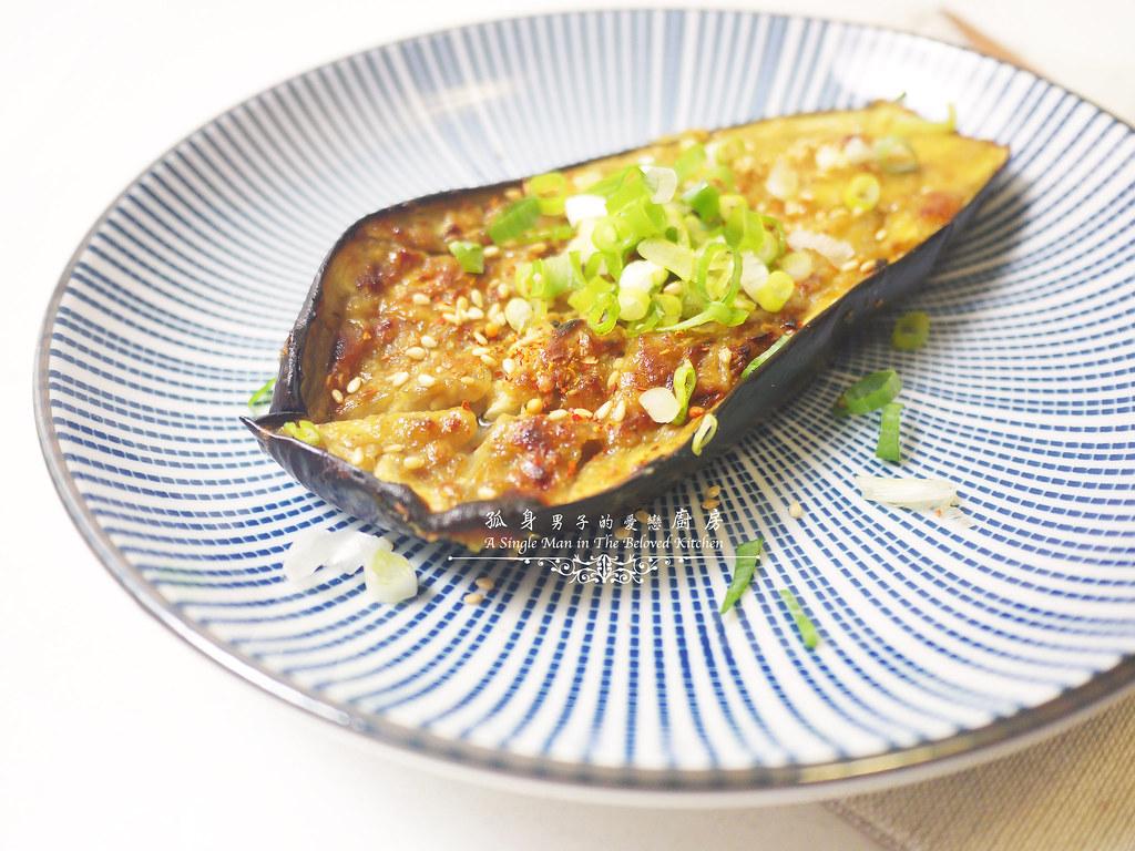 孤身廚房-開放式三明治三式-巴薩米克醋綜合菇、味噌烤茄子、杏仁香蕉桃接李9