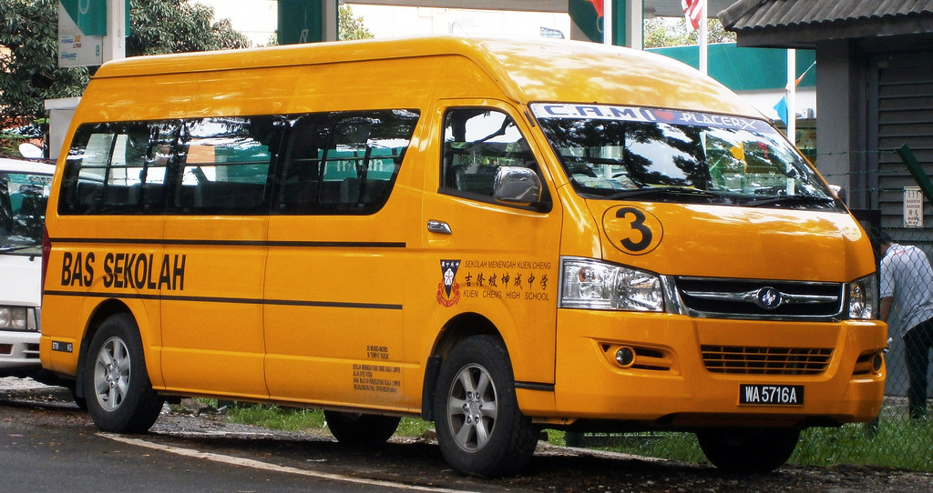 Image result for malaysian school van