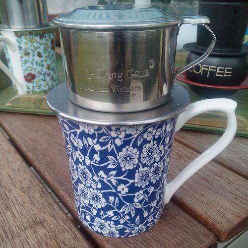 ベトナムのコーヒーのいれ方。