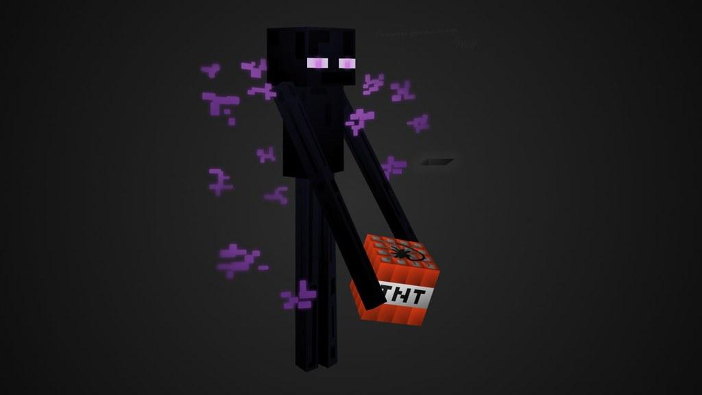 Minecraft - Enderman | Denerwuje Cię utrata ekwipunku? A ...