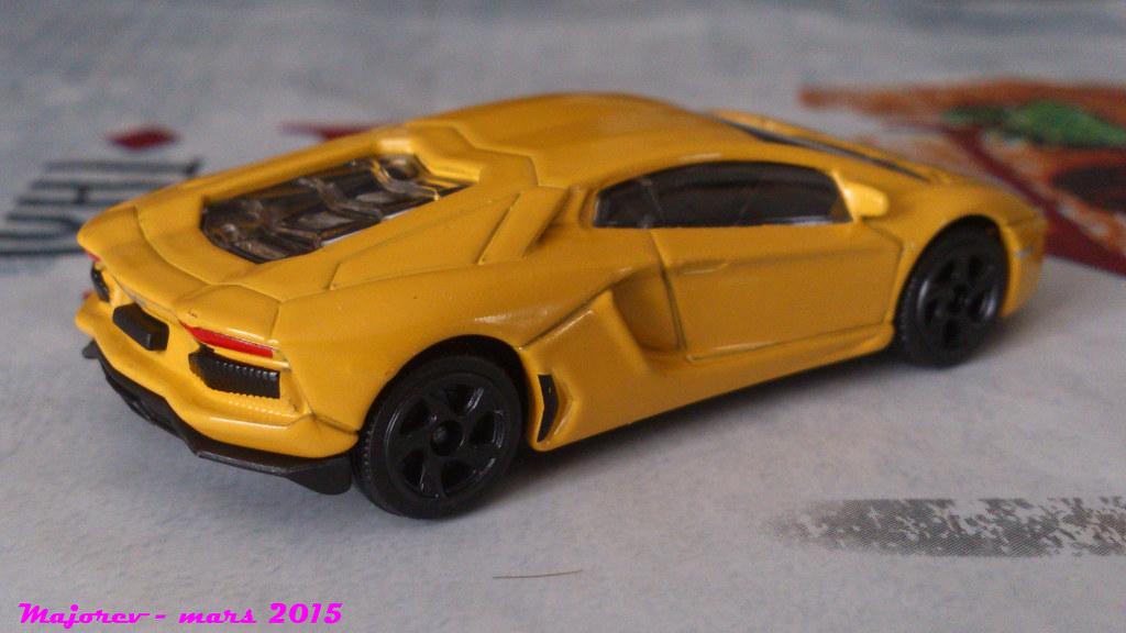 Majorette Lamborghini Aventador R 233 F 219e Ech 1 64