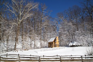 Winter Cabin | by Rob Shenk
