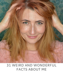 31 Weird and Wonderful Facts About Me - Not Dressed As Lamb