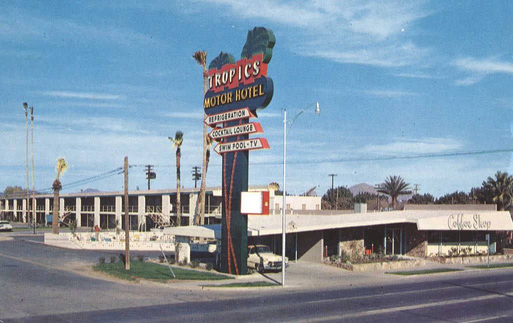 Tropics Motor Hotel - Phoenix, Arizona
