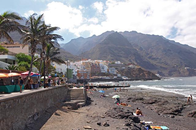 Promenade, Punta de Hidalgo, Tenerife