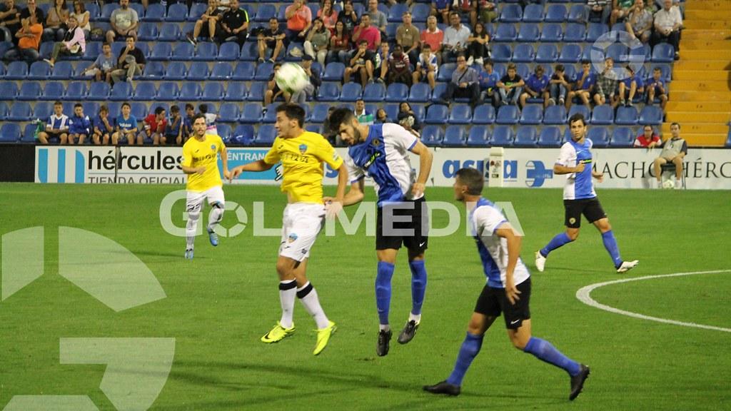 Hércules-Lleida (2-0) Fotos: J. A. Soler