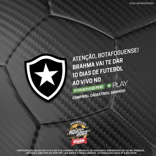 Botafogo - Brahma Aqui tem jogo