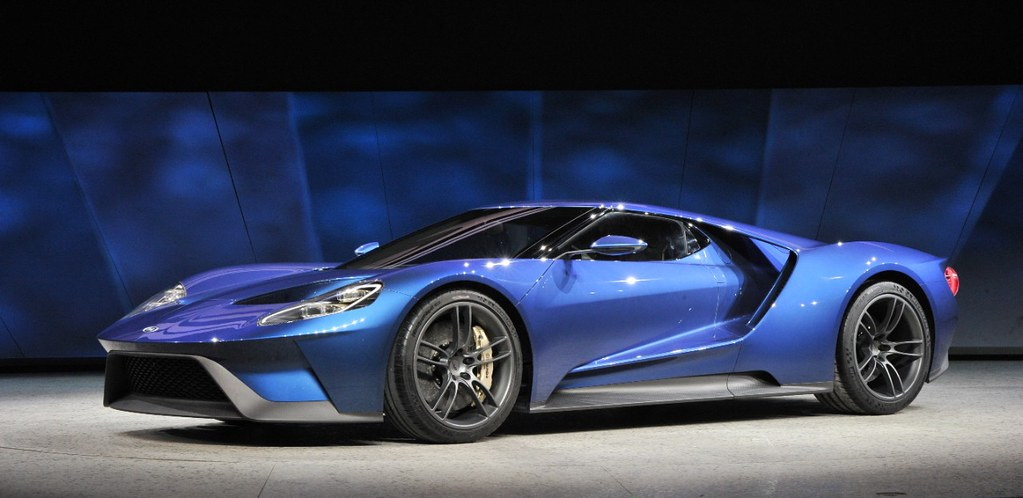 Ford Gt At Naias  By Mischieftv