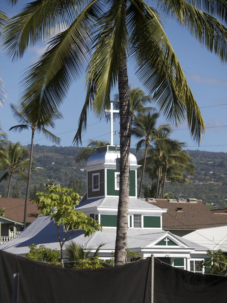 Downtown Church Kaliua Kona Hawaii Gillfoto Flickr