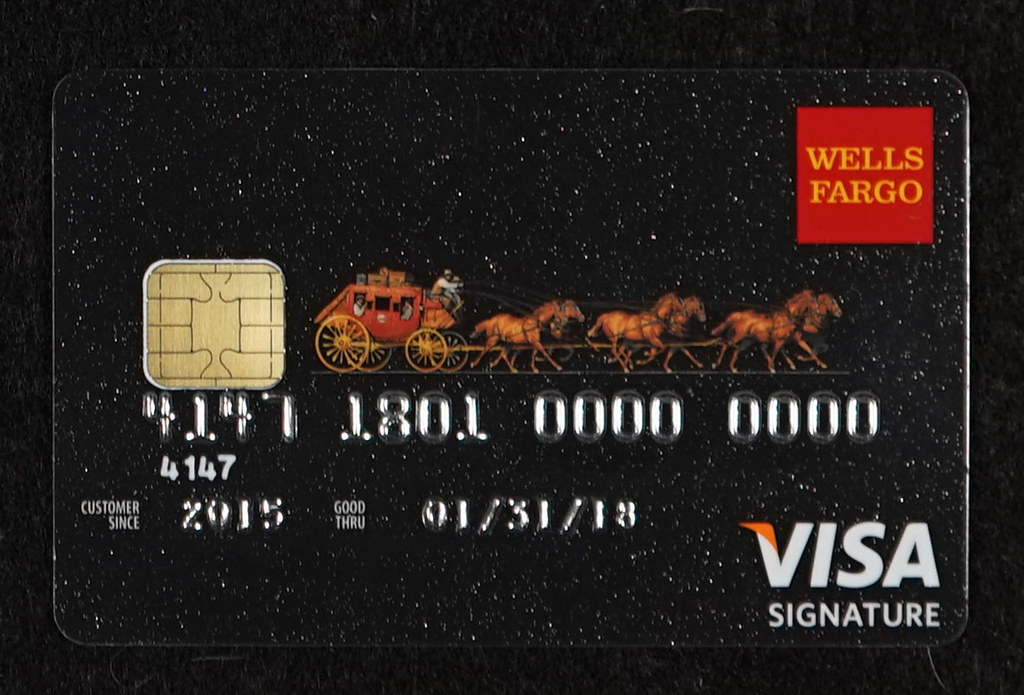 Chip-enabled Wells Fargo Visa Signature Credit Card | Flickr