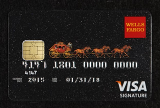 Chip-enabled Wells Fargo Visa Signature Credit Card | by Aranami