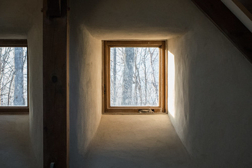Gorgeous Light in Straw Bale Cottage Window Reveal | by goingslowly