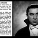 16th August 1956 - Death of Bela Lugosi
