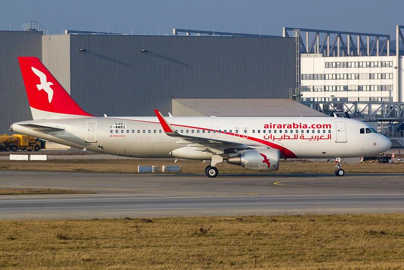 Air Arabia - A320 - F-WWBS (4)