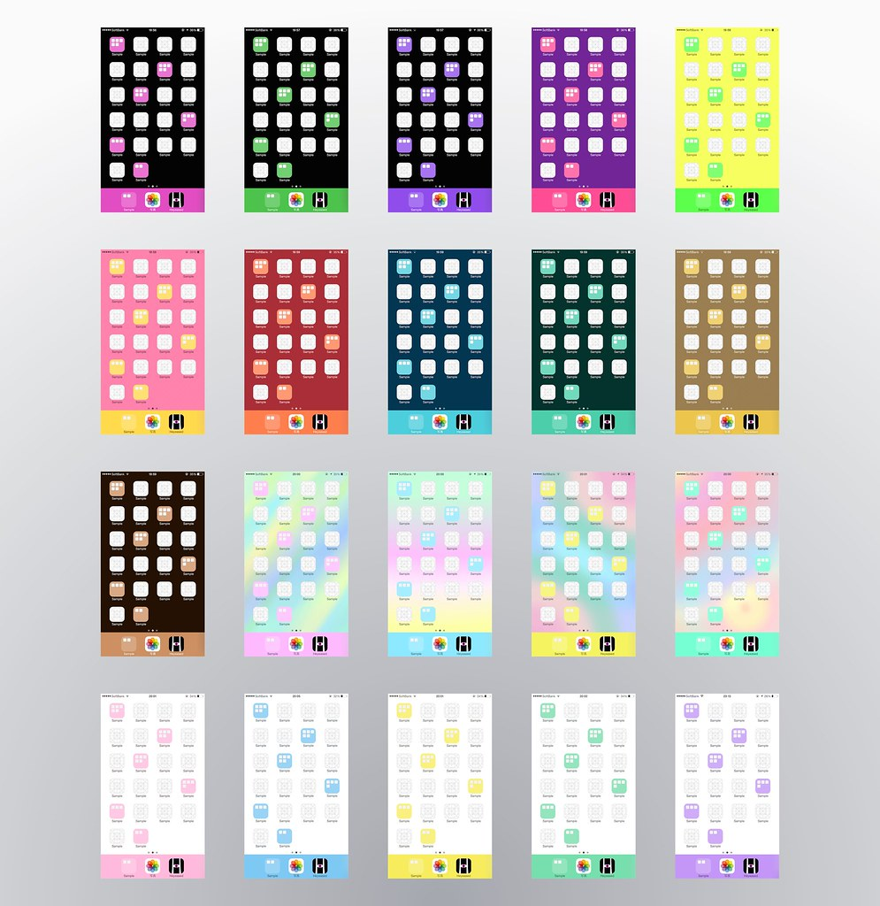 Iphone Wallpaper Maker Online: The IPhone Wallpapers Make Color Folders