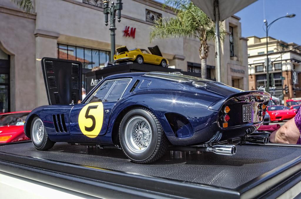 1964 Ferrari 250 Gto 1 8 Scale Model By Amalgam Concorso