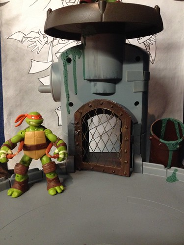 TMNT lair WIP | by connor_obain