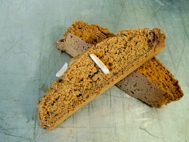 Vanilla Caramel Biscotti