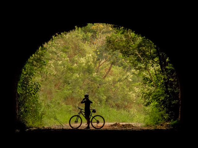 No túnel