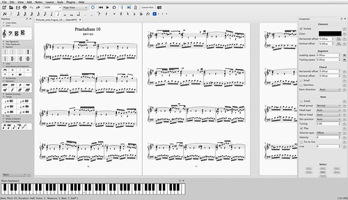 MuseScore 2.0 Screenshot