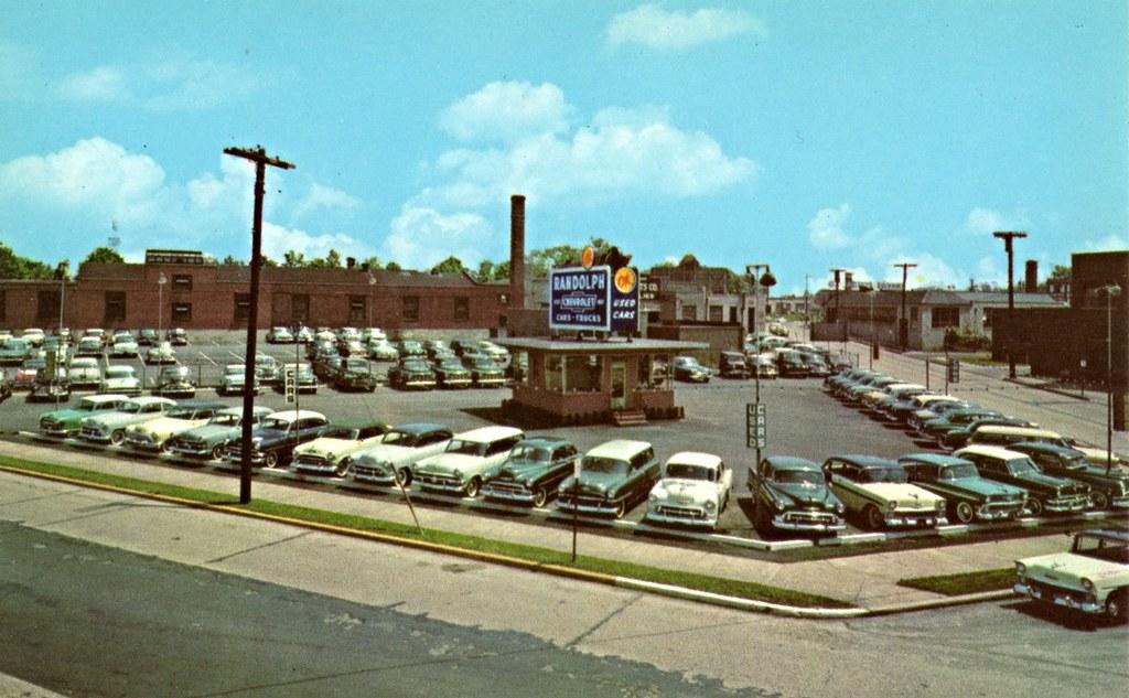 Randolph Chevrolet, Camden NJ, 1950s | 1759 Haddon Avenue ...