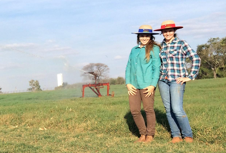 Irmãs de Indaiatuba criam empresa para produção de feno a partir de trabalho de conclusão na Fatec