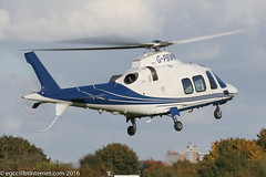 G-PBWR - 2007 build Agusta A109S Grand, Runway 08 departure from Barton