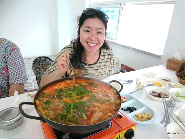 Seafood feast in Gangneung