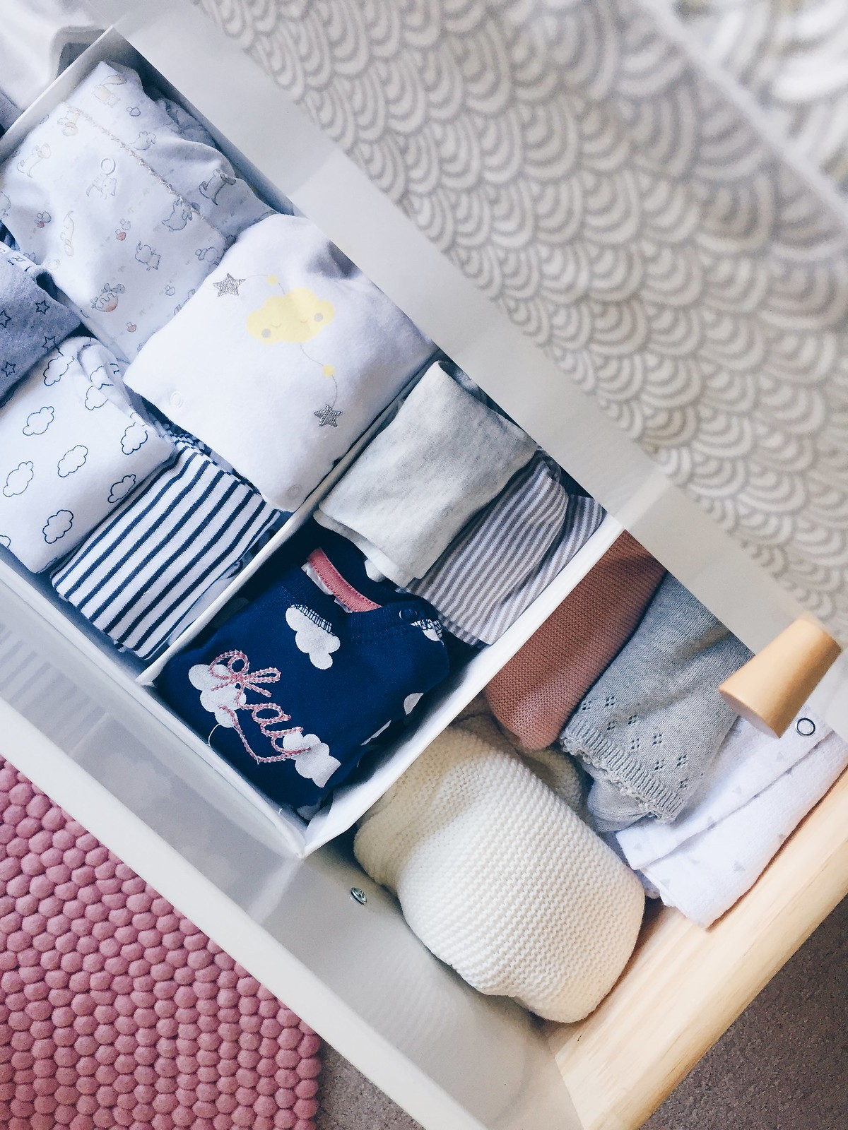 nursery clothing storage
