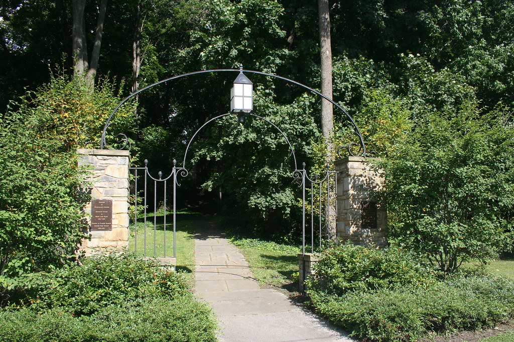 Marie Bruot Gate at the Cleveland Cultural Gardens - Cleve… | Flickr