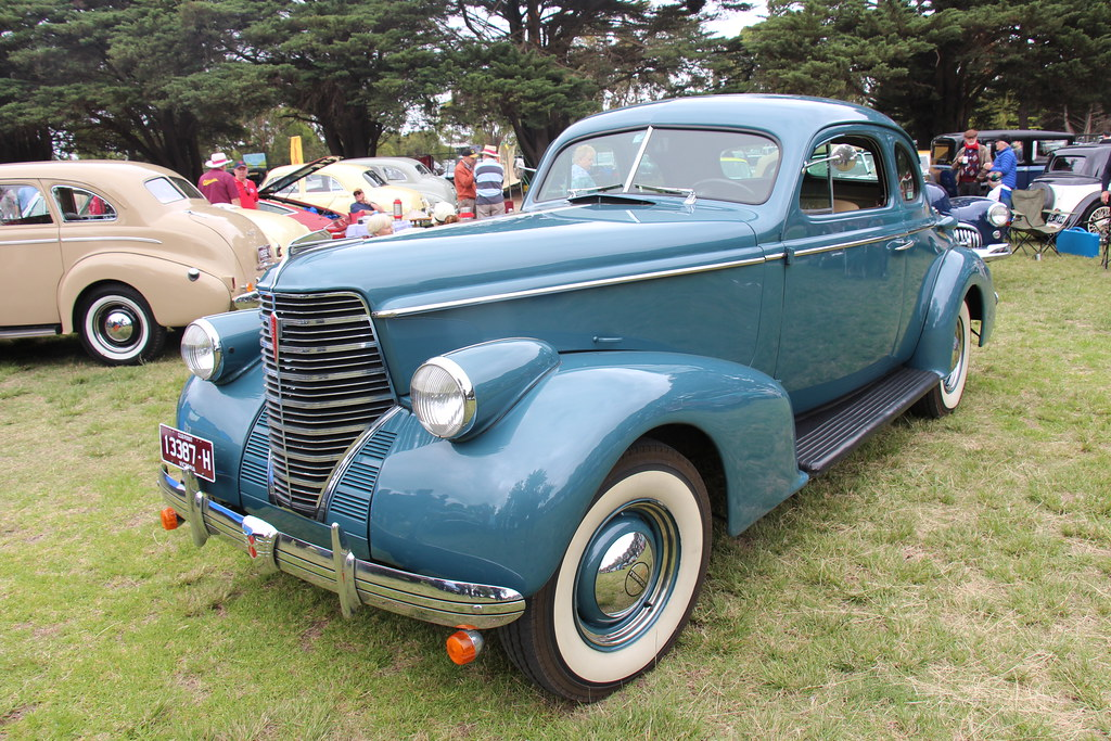 1938 Oldsmobile L38 Coupe Olds Motor Vehicle Co Was