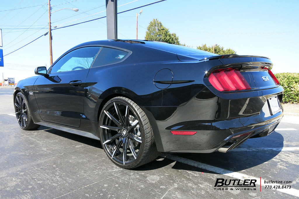 2015 Mustang Wheels >> 2015 Ford Mustang with 22in Lexani CSS15 Wheels   Additional…   Flickr