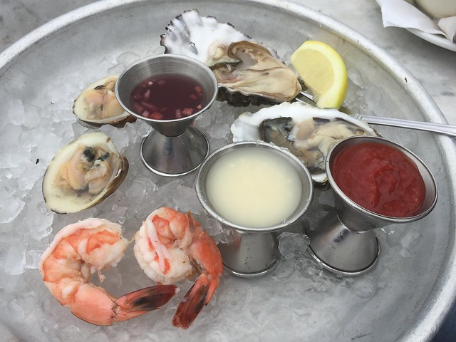 Raw bar medley - Sam's Chowder House