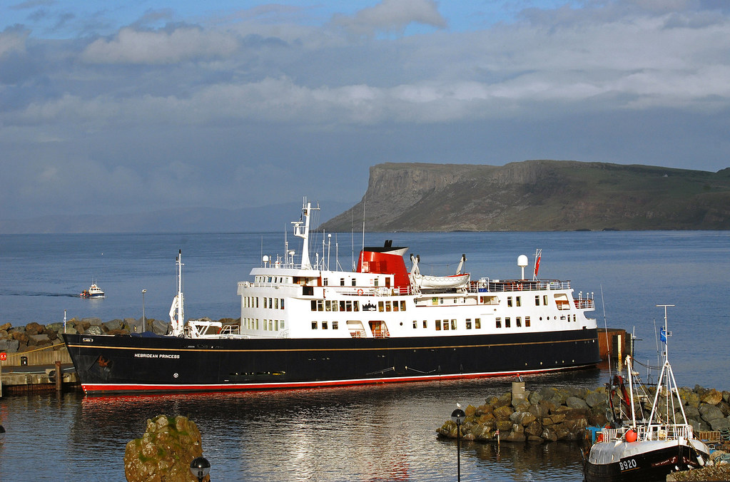 New ultra luxury small ship cruise tour of scotland and for Luxury small cruise lines