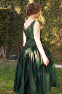 Green Robe de Style | by koshka_the_cat
