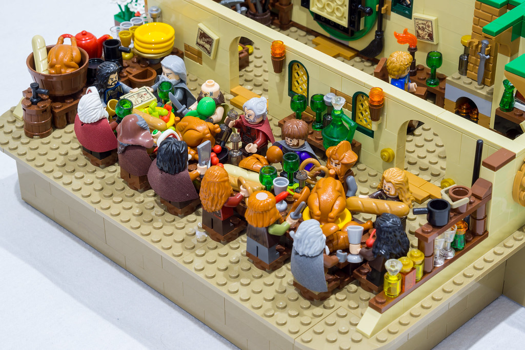 Lego bag end hobbit moc this is my bag end moc it s made